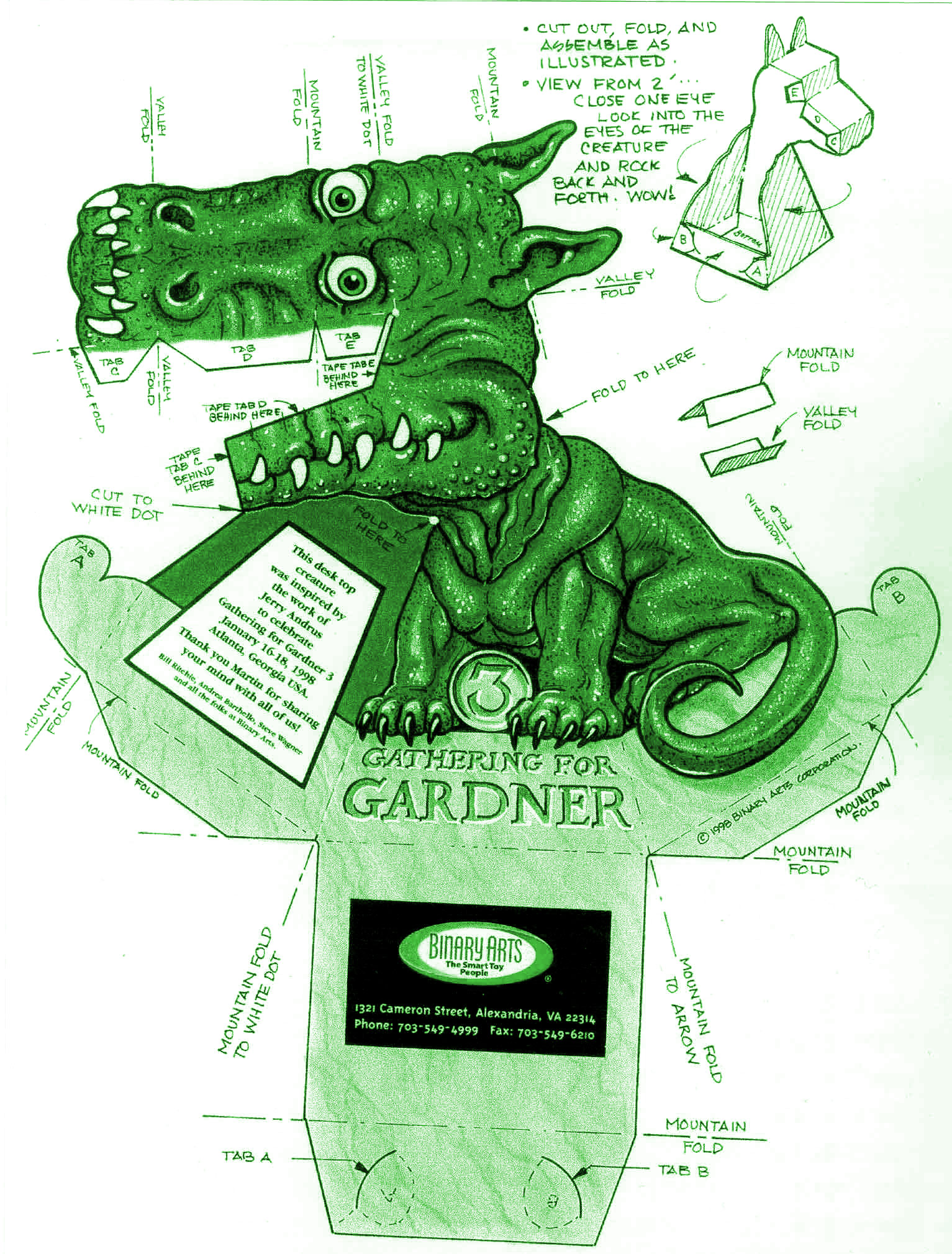 gathering for gardner paper dragon in great things on the web